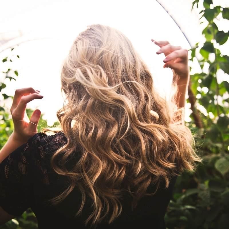 cuidado del cabello en el embarazo